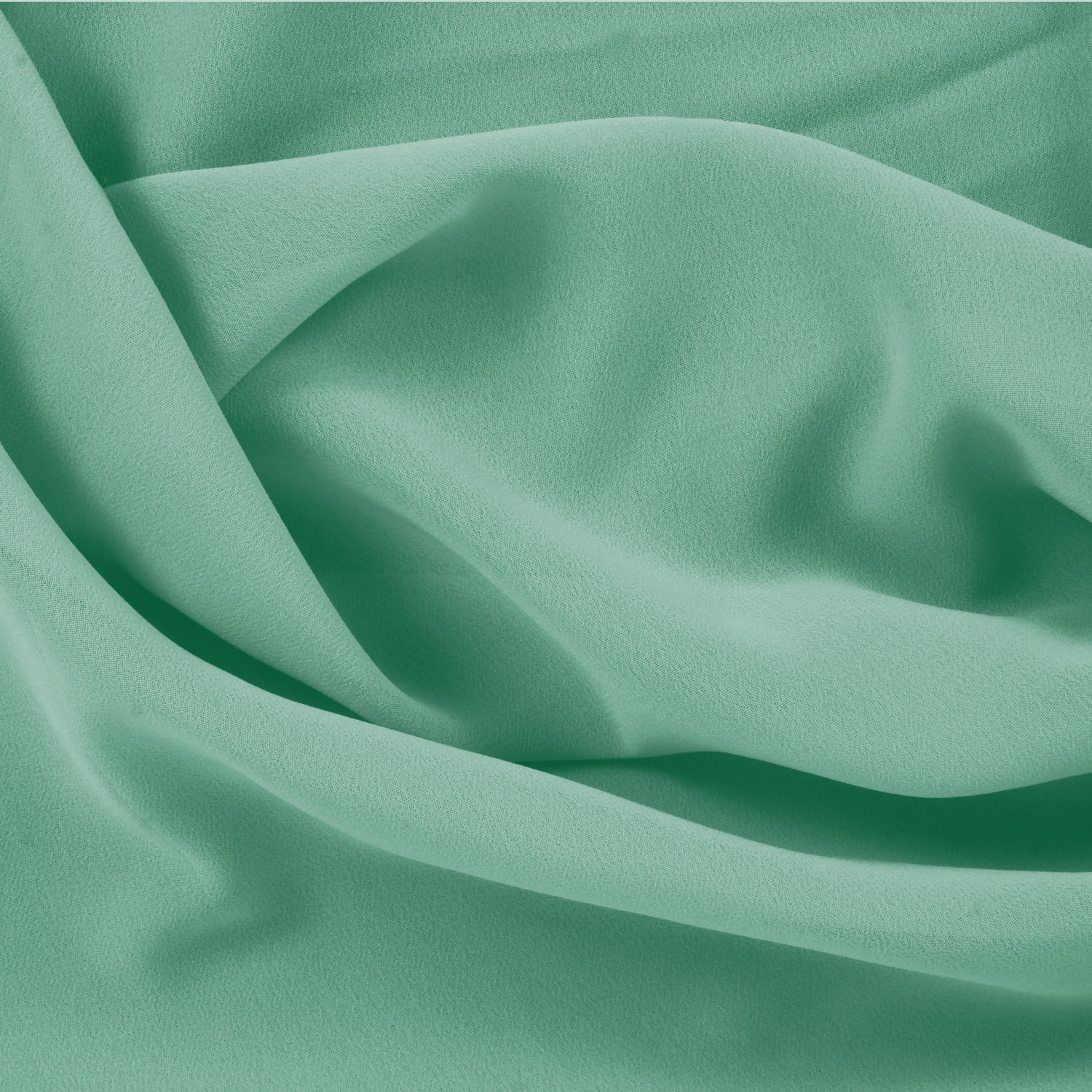 Bamboo Georgette C Green Fabric